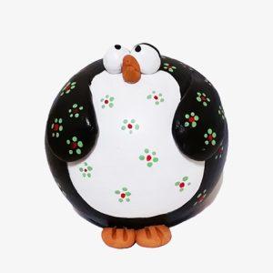 Pinguino in terracotta