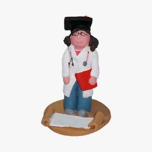 Dottoressa in terracotta