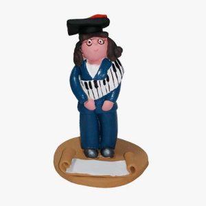 Insegnante pianoforte in terracotta